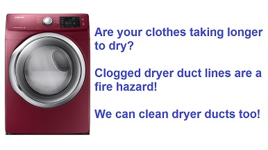 dryer vent cleaning in the Amarillo TX area - Texas